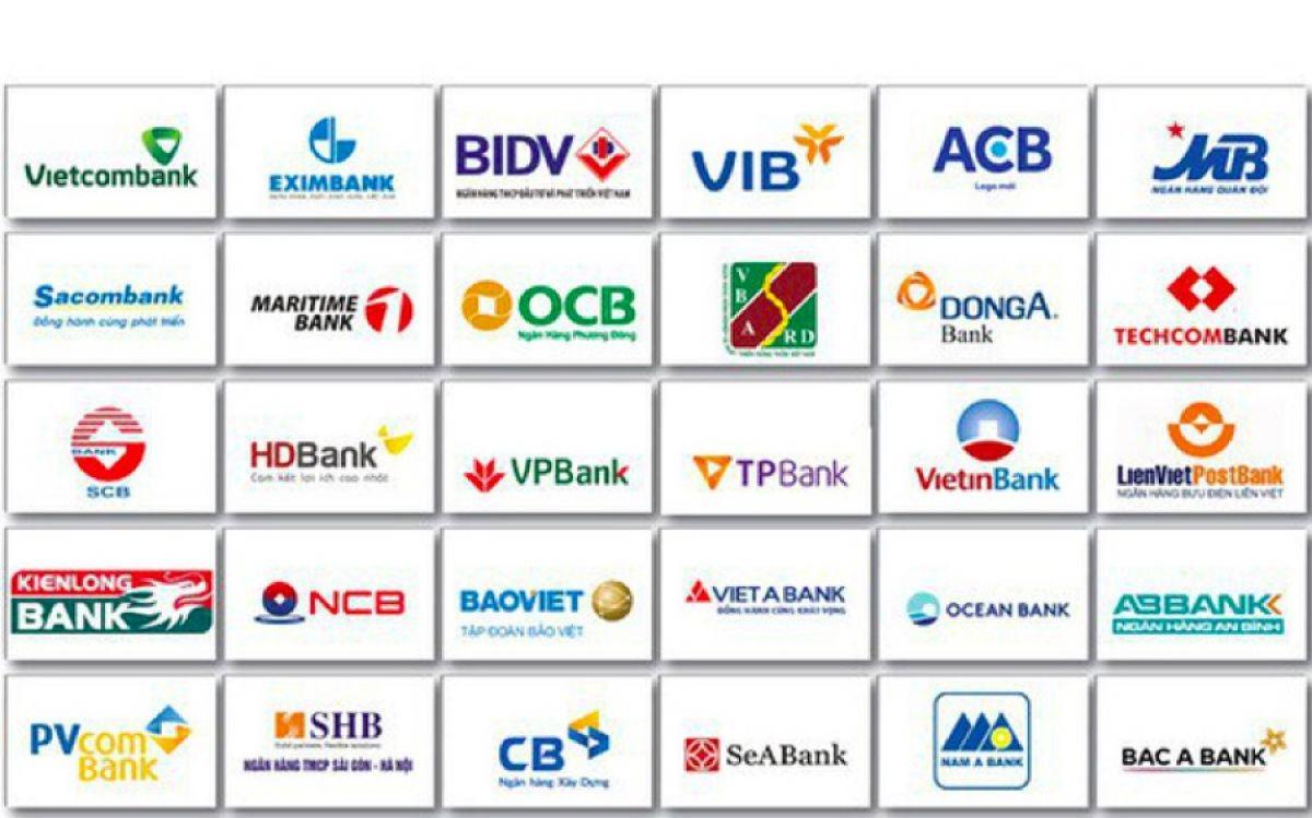 Các ngân hàng chính thức được xếp hạng